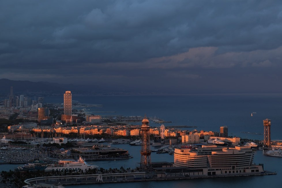 Barcelona evening